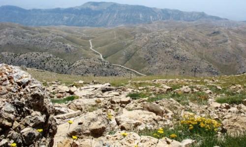 TURCJA / Anatolia Wschodnia / Nemrut / Droga na Nemrut