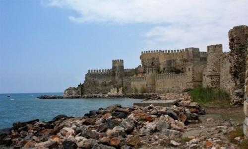 Zdjecie TURCJA / Morze Śródziemne / Anamur / Ormiańska twierdza Mamure Kalesi
