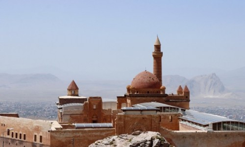 Zdjęcie TURCJA / wschodnia Anatolia / Dogubayazit / Pałac Ishaka Paszy