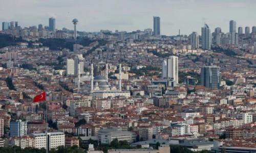 Zdjecie TURCJA / środkowa Anatolia / Ankara / Morze betonu - Ankara