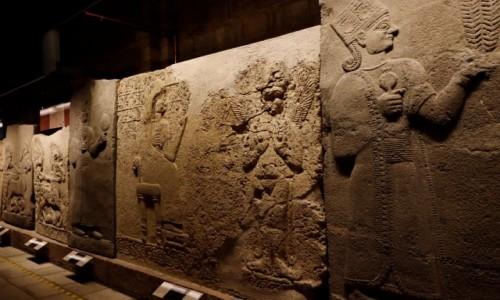 Zdjecie TURCJA / środkowa Anatolia / Ankara / Ortostaty w Muzeum Cywilizacji Anatolijskich w Ankarze