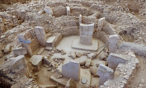 Zdjecie TURCJA / płd.-wsch. Anatolia / Gobekli Tepe / Najstarsze znane miejsce kultu stworzone przez człowieka - ok. 9000 lat p.n.e.