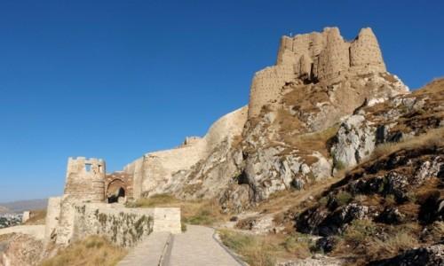 Zdjecie TURCJA / wschodnia Anatolia / Wan / Zamek w Wan