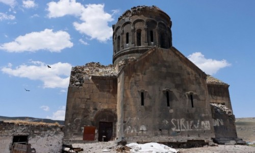 TURCJA / wschodnia Anatolia / Cengilli / Monaster Eghegnamor