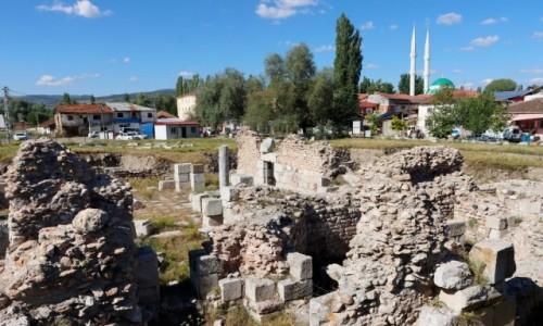 Zdjecie TURCJA / środkowa Anatolia / Sulusaray / Rzymskie ruiny Sebastopolis