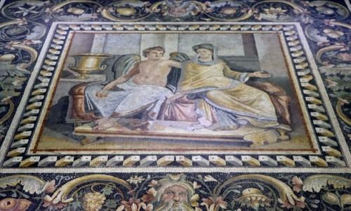 Zdjecie TURCJA / płd.-wsch. Anatolia / Gaziantep / Rzymska mozaika w muzeum w Gaziantep