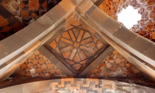 Zdjecie TURCJA / wschodnia Anatolia / Ani / Sklepienie ormiańskiego kościoła w Ani