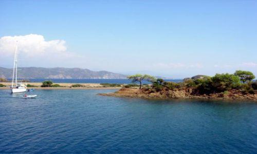 Zdjęcie TURCJA / Turcja Egejska / Fethiye / wyspa zatoki Gocek
