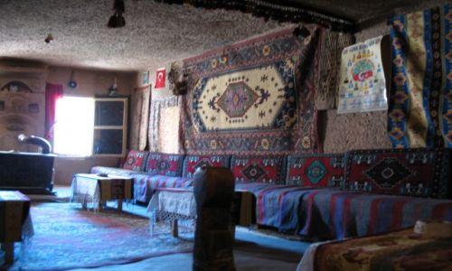 Zdjecie TURCJA / brak / Wnetrze skalnych domow w Kapadocji / Jeszcze troche Turcji