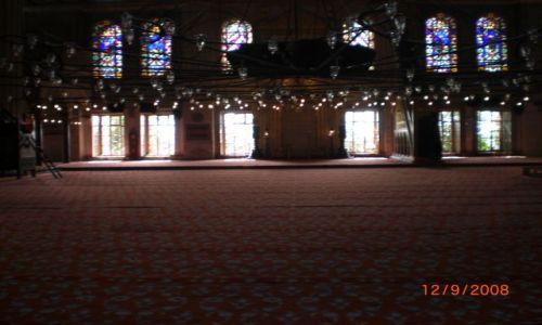 Zdjecie TURCJA / Istambu� / Istambu� / B��kitny Meczet