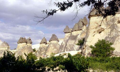 Zdjęcie TURCJA / Kapadocja / Pasa Baglari / wąwóz miłości