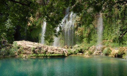Zdjecie TURCJA / brak / Park Kursunlu / Wodospad Parku Narodowego Kursunlu