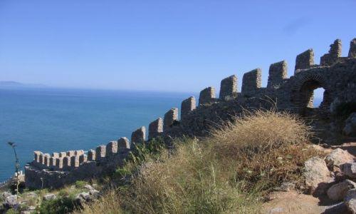 Zdjecie TURCJA / Riwiera Turecka / Alanya / fragment muru z