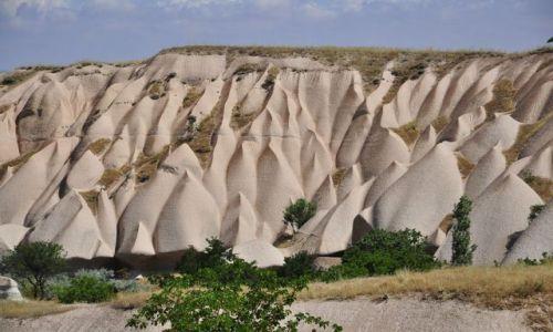 Zdjecie TURCJA / kapadocja / Park Narodowy Kapadocja / jak z piasku sypane
