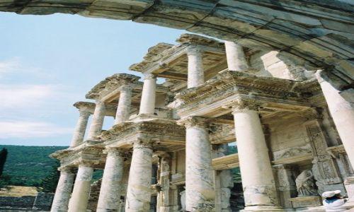 Zdjecie TURCJA / Turcja / Efez / Biblioteka Cels