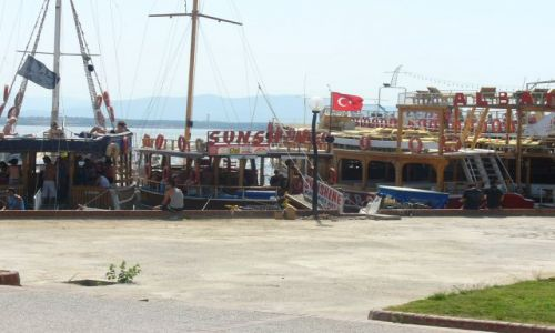 Zdjecie TURCJA / Riviera Turecka / Didim / Port w Didim