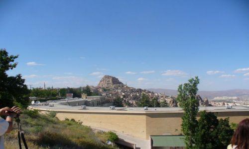 Zdjecie TURCJA / okolice doliny w Kapadocji / kapadocja / Panorama Kapadocji