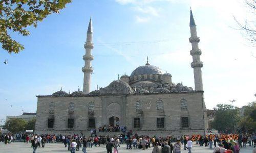 TURCJA / Turcja / Stambuł / meczet - meeting place