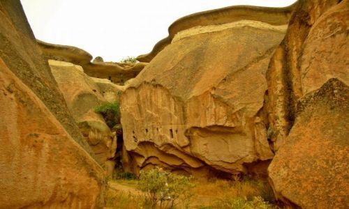 Zdjecie TURCJA / Anatolia / ciekawe:) / Kapadocyjskie formacje skalne