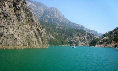Zdjęcie TURCJA / południe Turcji / Green Canyon / zielony kanion