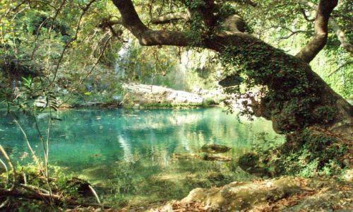 Zdjecie TURCJA / Riviera Turecka / nieopodal Side / wodospad