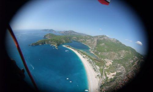Zdjęcie TURCJA / Wybrzeże Likijskie / Oludeniz / Oludeniz z lotu ptaka