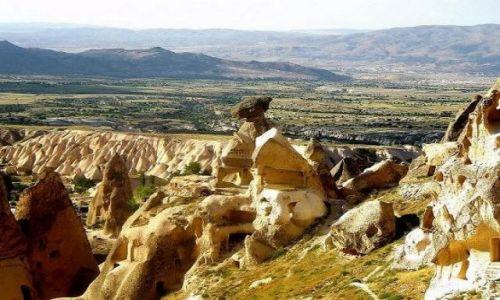 Zdjęcie TURCJA / Anatolia / Kapadocja / Kolory Kapadocji