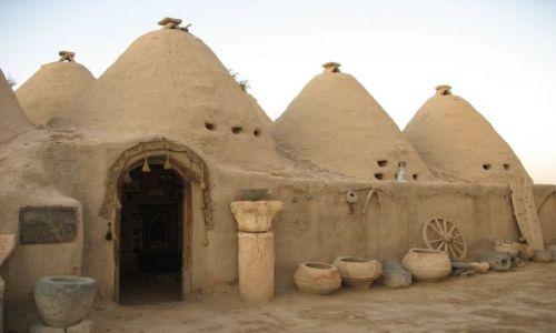 Zdjecie TURCJA / Mezopotamia / Harran / Domy - ule