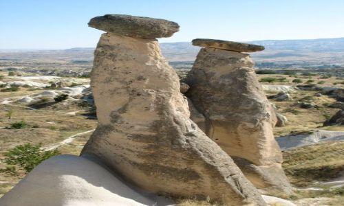 Zdjecie TURCJA / Srodkowa Anatolia / Kapadocja / Grzybki