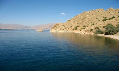 Zdjecie TURCJA / wschodnia Anatolia / jezioro Van / Jezioro jak marzenie