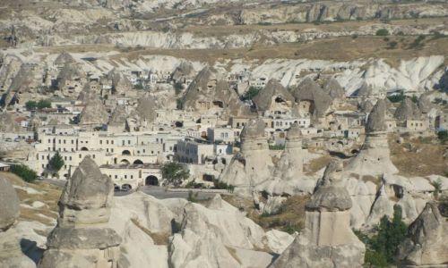 Zdjecie TURCJA / Anatolia / Kapadocja / panorama