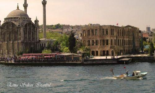 Zdjecie TURCJA / Istanbul / Ortakoy nad Bosforem / Palac Esma Sult