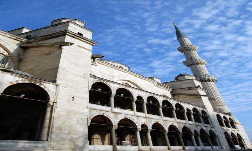 Zdjęcie TURCJA / Turcja / Stambuł / Błękitny