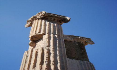 Zdjecie TURCJA / - / Efez / Kolumny