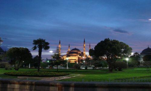 Zdjecie TURCJA / brak / Istambuł / Błękitny meczet