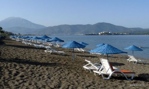 TURCJA / - / Fethiya / Fethiya Calis - plaża