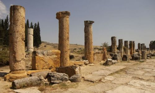 Zdjecie TURCJA / płd-zach Turcja / Hierapolis / Hierapolis
