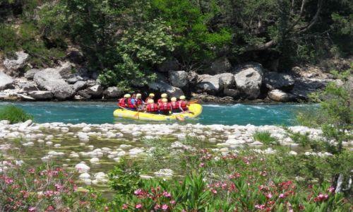 Zdjęcie TURCJA / okolice Alani / W górach / Rafting