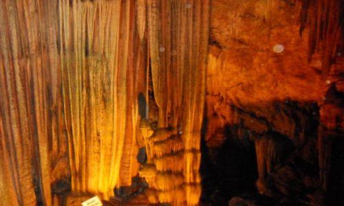 Zdjęcie TURCJA / okolice Alani / jaskinia w górach / Cuda natury
