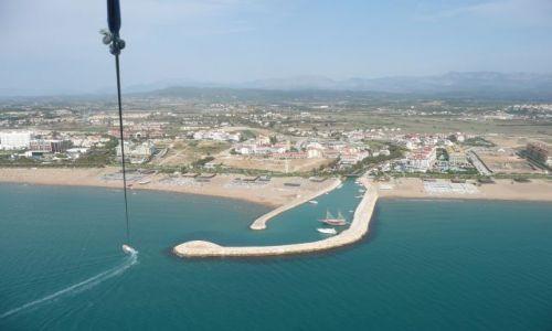 Zdjęcie TURCJA / Antalia / 300 metrów nad plażą / Krajobraz na uwięzi