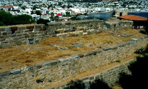 Zdjęcie TURCJA / Mugla / Bodrum / Ruiny Mauzoleum