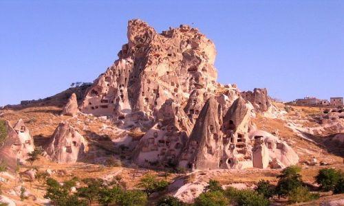 Zdjecie TURCJA / Anatolia Turecka / Kapadocja / formy skalne