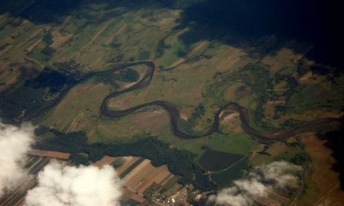 Zdjecie TURCJA / - / nad Turcją, wykonane z samolotu / KONKURS Cuda Natury Meandrująca