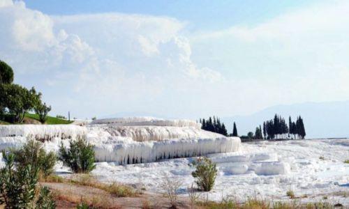 Zdjęcie TURCJA / brak / Pamukkale / ni to śnieg, ni to....