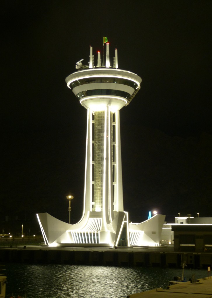 Zdjęcia: Turkmenbashi, Turkmenbashi, Latarnia morska, TURKMENISTAN