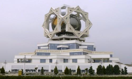 Zdjecie TURKMENISTAN / Ashgabat / Ashgabat / Pałac ślubów