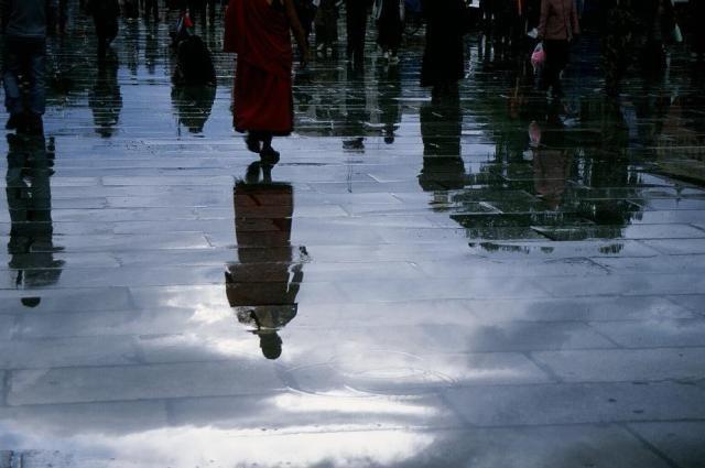 Zdjęcia: Lhasa, Tybet, Odbicie, TYBET