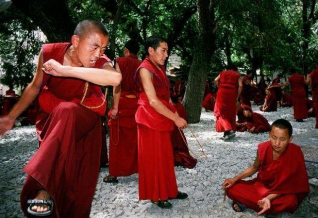 Zdj�cia: Klasztor Sera, Tybet , Medytacja, TYBET