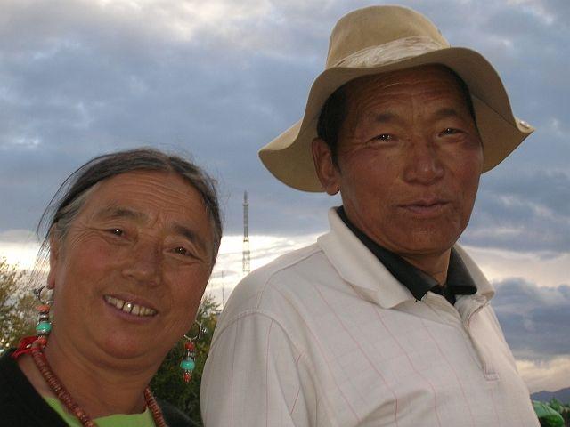 Zdjęcia: Lhasa, Pielgrzymi 1, TYBET