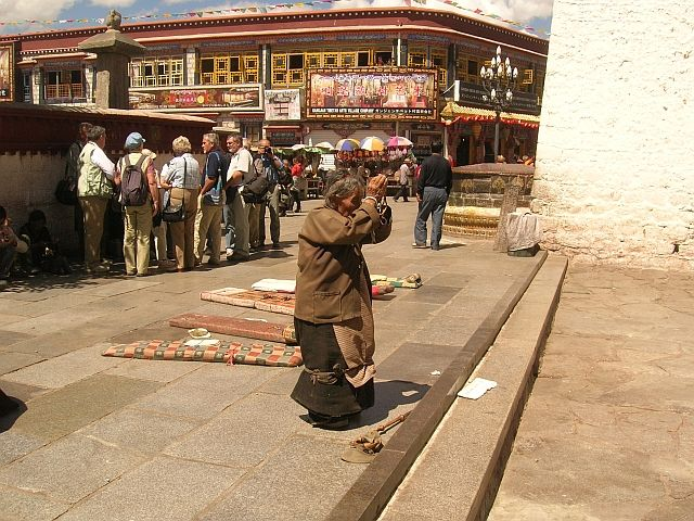 Zdjęcia: Lhasa, Pielgrzymi 5, TYBET